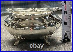 5-Piece Sterling Silver Tea Set With Waste Bowl Duncan-Footed FISHER SILVERSMITH