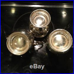 5 pc. Fisher Sterling Silver Tea Coffee Set 2326.46 ounces
