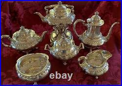 ANTIQUE TIFFANY & Co. Heavy STERLING SILVER TEA/COFFEE SET