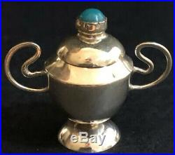 Antique MINI Sterling Silver 6 pcs Tea/Coffee Set with Tray