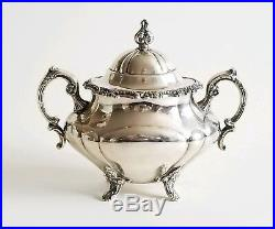 Antique Sterling Silver Reed & Barton Coffee Tea Service Set