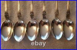 BUTTERCUP by GORHAM Sterling Silver Set of 6 ICE TEA SPOONS 7 5/8