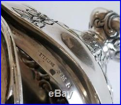 Beautiful Antique Repousse Sterling Silver Gorham Coffee Tea Set