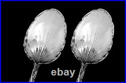 Canaux Masterpiece French Sterling Silver Tea Coffee Spoons Set 12 pc
