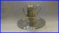 Coffee/Tea Set, Sterling Silver plated Reed and Barton s2600