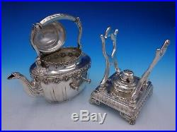 English King by Tiffany and Co Sterling Silver Tea Set 6pc (#3346) Fabulous