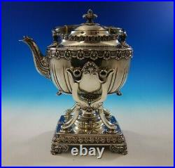 English King by Tiffany and Co Sterling Silver Tea Set 8-Piece (#4811) Fabulous