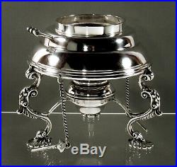 English Sterling Tea Set Bloom & Son 90 Ounces