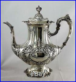 FRANCIS I BY REED & BARTON Sterling Silver 5-PC TEA & COFFEE SET
