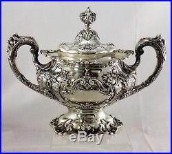FRANCIS I by Reed and Barton Sterling Silver 6-PC TEA SET With LARGE TRAY