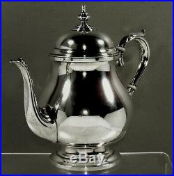 Fisher Sterling Silver Tea Set c1940 COLONIAL