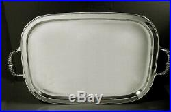 Fisher Sterling Tea Set Tray c1940 COLONIAL