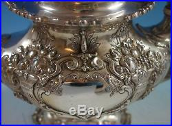 Francis I By Reed & Barton Sterling Silver Tea Set 6pc with Sterling Tray (#2118)