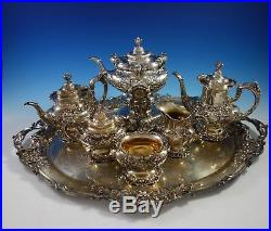 Francis I by Reed and Barton Sterling Silver Tea Set 7pc (#2913) Magnificent