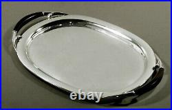 German Sterling Tea Set Tray c1930 OTTO WOLTER