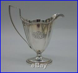 Gorham Plymouth Sterling Silver Tea & Coffee Set + Tray With Historic Provenance