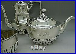 Gorham Queen Anne Pattern Sterling Silver 4pc Tea Set LOWEST PRICE ANYWHERE LOOK