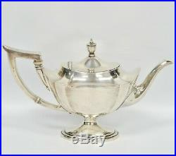 Gorham Sterling Silver PLYMOUTH Pattern Tea Coffee Set NO MONO 70 OZT