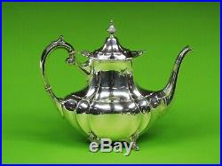 Hampton Court by Reed & Barton sterling silver 4 piece tea set marked #660