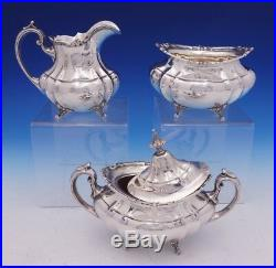 Hampton Court by Reed and Barton Sterling Silver Tea Set 5pc #660 (#1624)