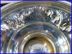 Hand Chased Sterling Silver 5 Pce. Tea Set. Victoria Pattern By Fisher