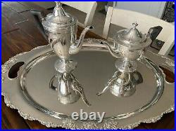 Museum Quality Heavy Complete Tiffany & Co 9-pc Sterling Silver Tea Set Ca 1910