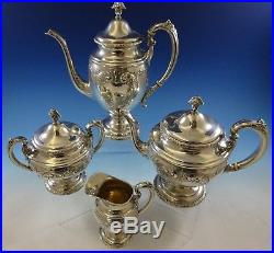 Old Master by Towle Sterling Silver Tea Set 4pc #76530 (#2646)