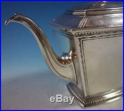 Pantheon by International Sterling Silver Tea Set 5pc with Tray (#2175)