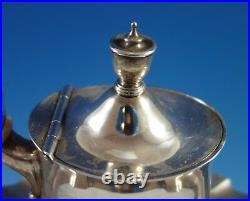 Plymouth by Gorham Sterling Silver Tea Set 4pc (#1897)