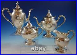 Puritan by Gorham Sterling Silver Tea Set 4pc (#2509)