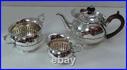 Rare Matched Bachelor's Tea Set in Cape Pattern London 1779-84