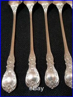 Reed & Barton Francis I 1st Sterling Silver Iced Tea Spoon Set of 6pc