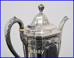 Reed & Barton Sterling Silver Heritage Tea/coffee Set
