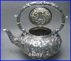 S. Kirk & Son Sterling Silver 6-Pc. Tea & Coffee Set With Tray
