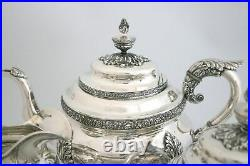 S. Kirk & Son Sterling Silver Tea Set 1896-1924