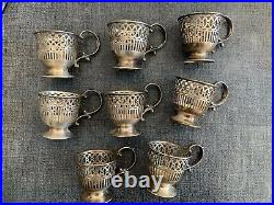 STERLING SILVER TIFFANY & CO 29pc DEMITASSE TEA OR COFFE CUP SET LENOX