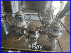 Sterling Silver Tea Service, French Set