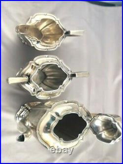 Sterling Silver Tea set from Watson and Newell from early 1900