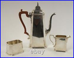 Tiffany & Co. Sterling Silver 3-Piece Coffee and Tea Service Set Free Ship US