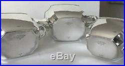 Tiffany & Co Sterling Silver-Tea Set-Hampton Pattern-Excellent Condition