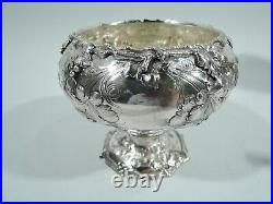 Tiffany Coffee Tea Set 299 Antique Early American Sterling Silver 1850s