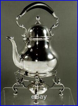 Tiffany Sterling Tea Set Kettle & Stand 1934 Clan Byres