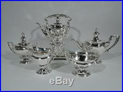 Tiffany Tea Set 13889D Antique Neoclassical American Sterling Silver