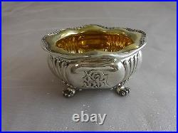 Tiffany and Co Sterling Silver Tea Set with Chrysanthemums 6pc One-Of-A-Kind #0157