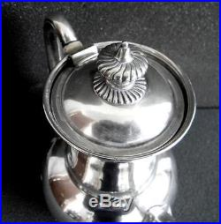 Tiffany sterling silver tea and coffee set art deco design