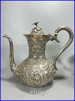 Top Quality Five Piece Sterling Silver Tea Set A. G. Schultz Baltimore Maryland