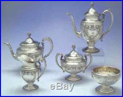 Towle OLD MASTER STERLING 5 Piece Tea Set 1946456