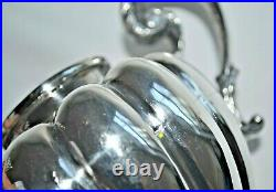 Vintage Hand-Wrought 3 Piece Sterling Silver Tea Set Mexico Lindo