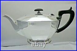 Vintage Solid Sterling Silver 3 Piece Tea Set Service Heavy Quality 985 grams