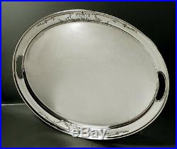 Whiting Stering Tea Set Tray c1920 Chinese Manner No Mono